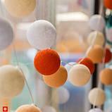 """Тайская LED-гирлянда """"Orange"""" (35 шариков), фото 6"""