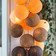 """Тайская LED-гирлянда """"Clay"""" (35 шариков), фото 2"""