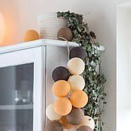 """Тайская LED-гирлянда """"Clay"""" (35 шариков), фото 5"""