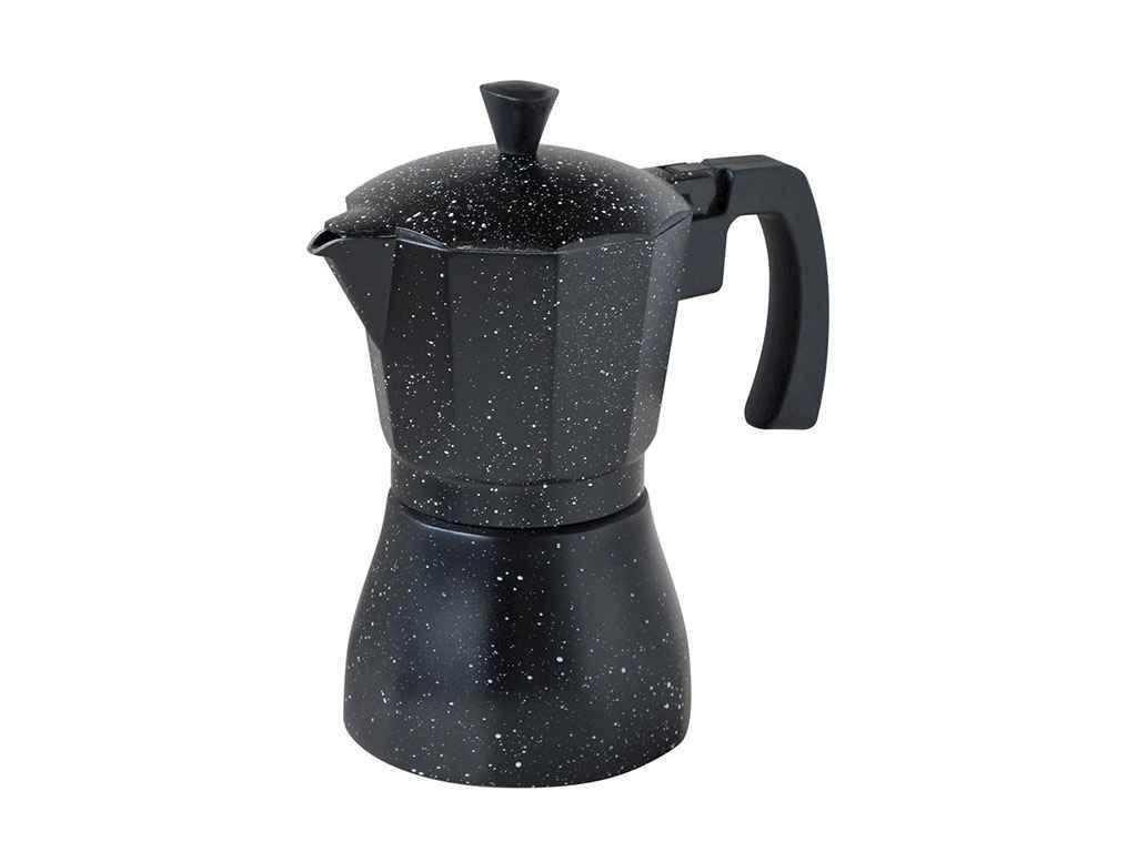 """Гейзерка кофеварка СВ-6803, 3 порции 150 мл алюминиевая """"CON BRIO"""""""