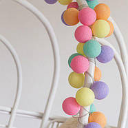 """Тайская гирлянда """"Ice Cream"""" (20 шариков) линия, фото 2"""