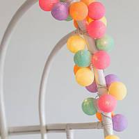 """Тайская гирлянда """"Ice Cream"""" (20 шариков) петля, фото 1"""
