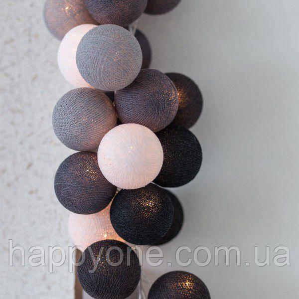 "Тайская LED-гирлянда ""Antra"" (10 шариков) на батарейках"