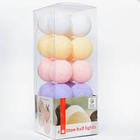 "Тайская LED-гирлянда ""Baby set"" (10 шариков) на батарейках"