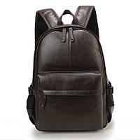 Рюкзак мужской / женский городской кожаный Vormor  (коричневый)