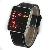 Стильные светодиодные бинарные часы OMGLEET