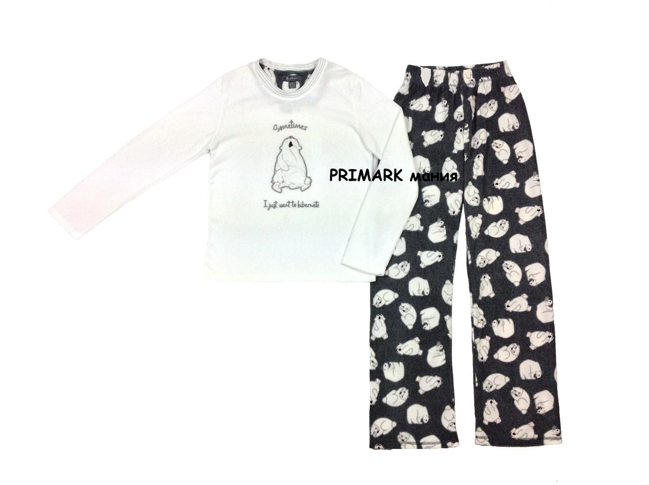 Женская флисовая пижама Primark  продажа 7e1249ce4035f