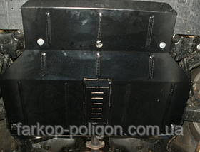 Защита картера Chery M1 (V-1,1) с 2010 г.