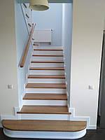 """Лестница """"Стокгольм"""" лестница деревяная Киев, Луцк, Львов"""