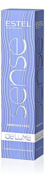 4/65 Крем-фарба De Luxe Sense Шатен фіолетово-червоний