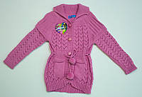 Вязаная кофта для девочки 4-5 лет, фото 1
