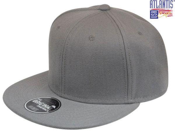 Кепка с прямым козырьком SNAP BACK серая - caps-hats.com.ua в 25ea6eb2409fa