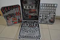 Набір інструментів  BOXER 187 од, чемодан на колесах, фото 1
