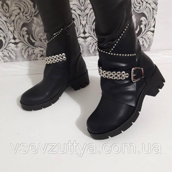 Черевики жіночі чорні зимові. Тільки 39 de2240041f09a