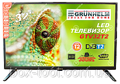 Телевизор Grunhelm GTV32T2 32 дюйма HD 1366x768