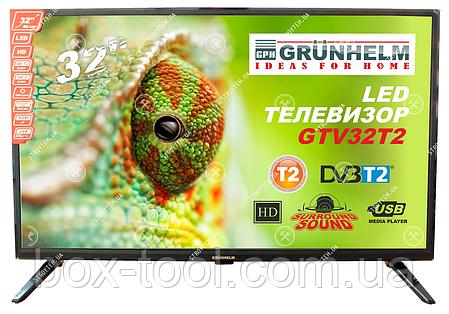 Телевизор Grunhelm GTV32T2 32 дюйма HD 1366x768 , фото 2