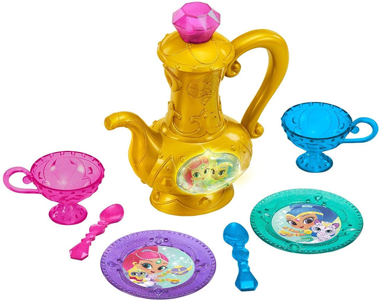 Интерактивный игровой набор чайный сервиз Шиммер и Шайн Волшебное чаепитие Fisher-Price Shimmer and Shine