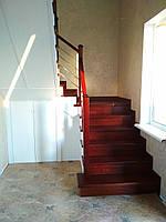 """Сходи """"Стамбул"""" сучасні сходи з дуба для дому Луцьк, Ковель, Рожище, фото 1"""