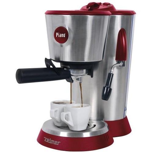 Рожковая кофеварка эспрессо Zelmer 13Z014 Red