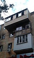Расширение балконов в Одессе