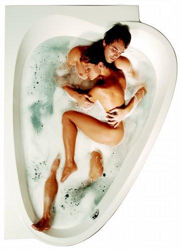 Ванна акриловая Ravak Love Story 185х134 правосторонняя