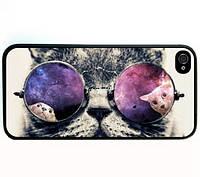 Кошка в очках чехол iphone 5 5 S