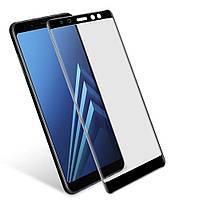 Защитное стекло для Samsung A8, A530 3D Black