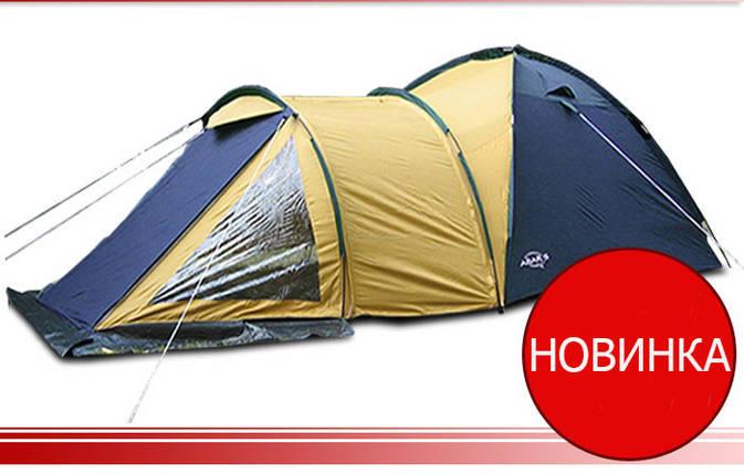 Палатка Traper 4, клеенные швы,тамбур, фото 2