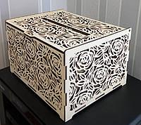 Свадебная казна,коробка, коробочка,сундук,сундучок для денег из дерева