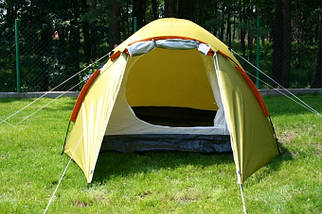 Палатка Abarqs Malwa 4, клеенные швы,тамбур, фото 3