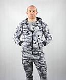Камуфляжный мужской спортивный костюм, фото 3