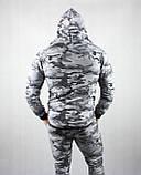 Камуфляжный мужской спортивный костюм, фото 6