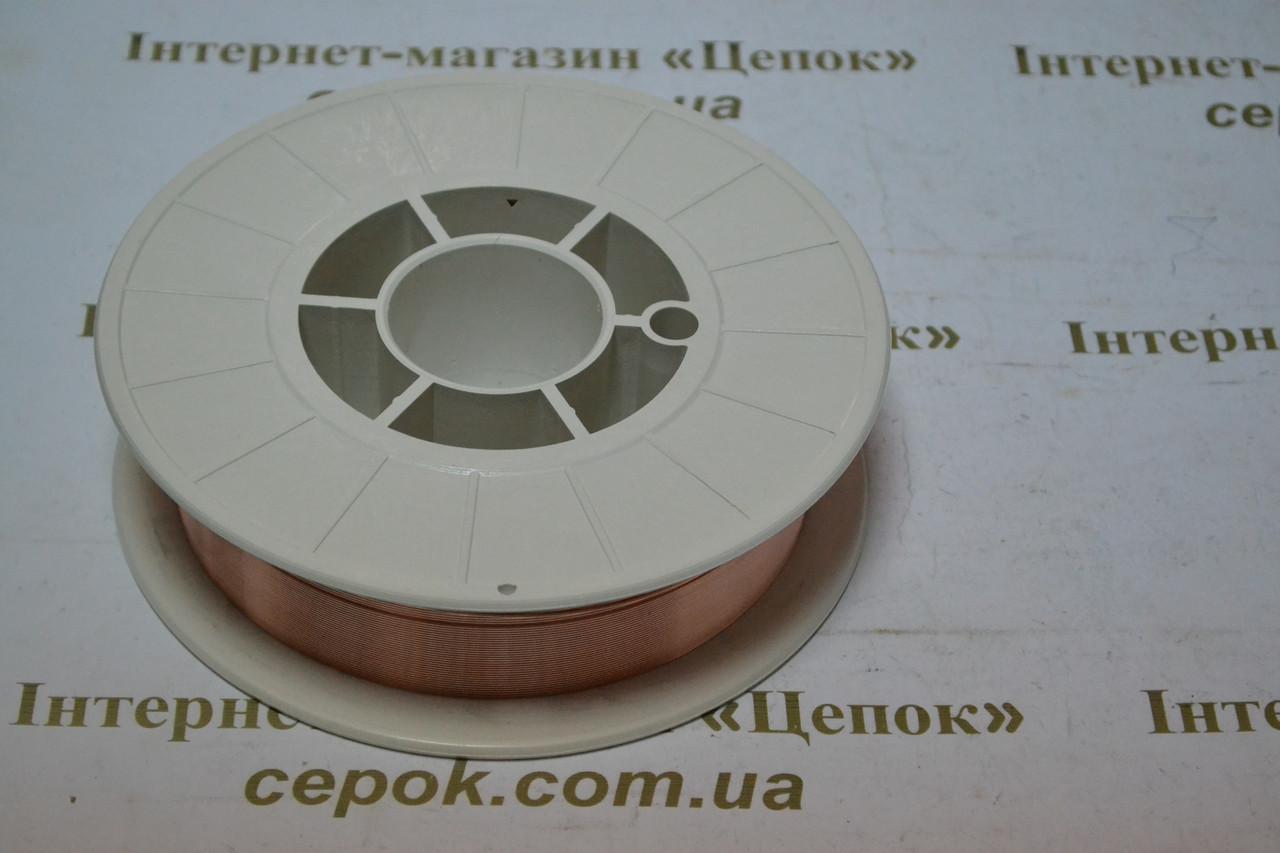 Дріт оміднений ER 70S-6, 4.5кг, 0.8мм