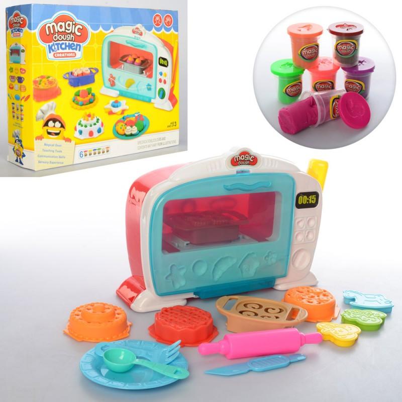 Пластилин Набор для детской лепки (детского творчества) Чудо Печь, инструменты, 2244 копия Плей Ду