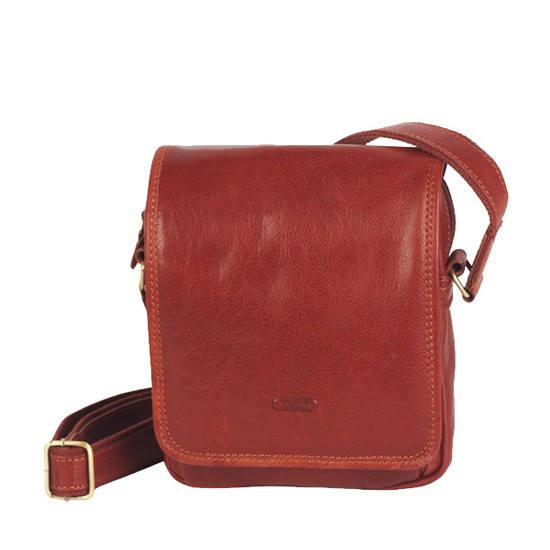 Кожаная сумка для мужчин через плечо