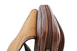 Кожаная сумка для мужчин через плечо, фото 3