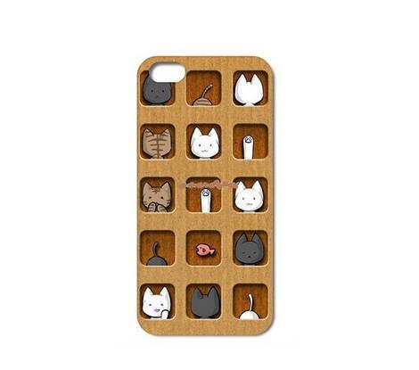 Котики играются чехол iphone 5 5 S