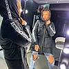 Зимняя спортивная куртка женская с капюшоном 18KU151