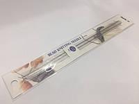 Спицы для вязания бисером длинные (уп 2шт) (арт.TBN-012e)