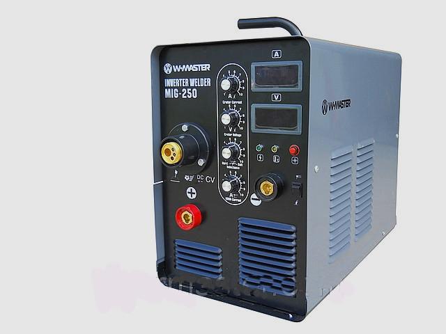 Сварочный инверторный полуавтомат W - Мастер MIG-250 (380V)