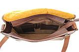 Шкіряна сумка під А4 чоловіча, фото 6