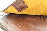 Шкіряна сумка під А4 чоловіча, фото 7