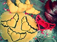 Форма для выпечки печенья, вырубка сердечко