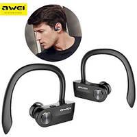 Беспроводные наушники блютус AWEI T2 BL Black Earphones Bluetooth
