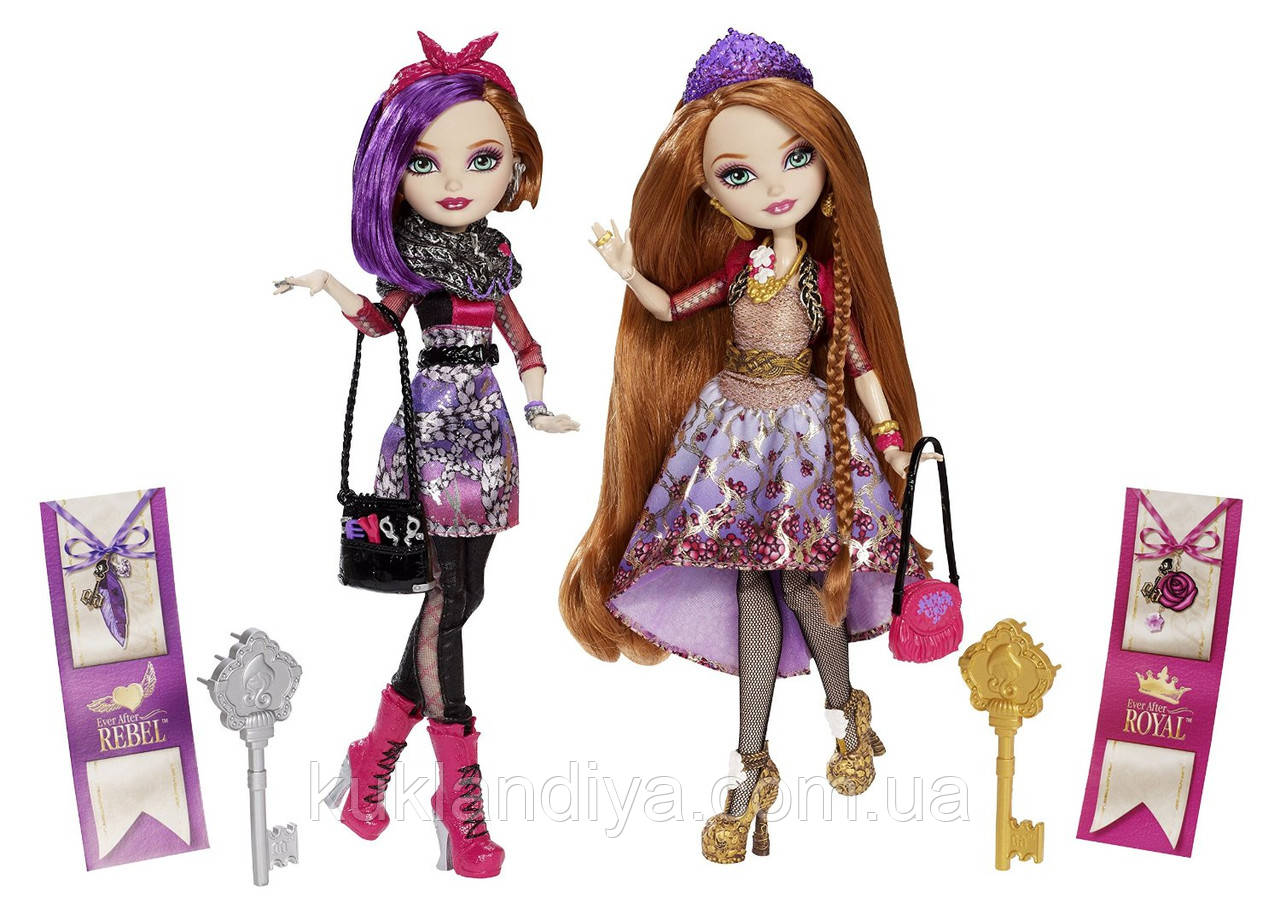Куклы Ever After High Холли и Поппи - Holly O'Hair and Poppy O'Hair