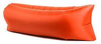 Всесезонний надувний ламзак AIR CUSHION помаранчевий