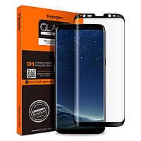 Защитное стекло Spigen для Samsung S8 Plus Full Cover (571GL21778)