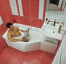Ванна акриловая Ravak BeHappy 160х75 правосторонняя, фото 3