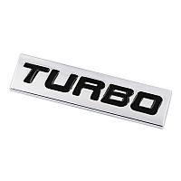 3D эмблема TURBO - метал, фото 1