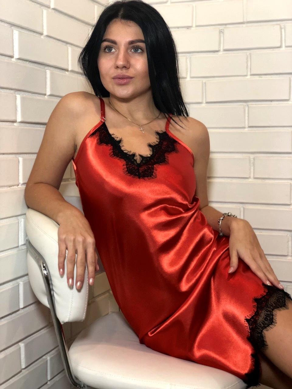 Атласное белье, пеньюар женский